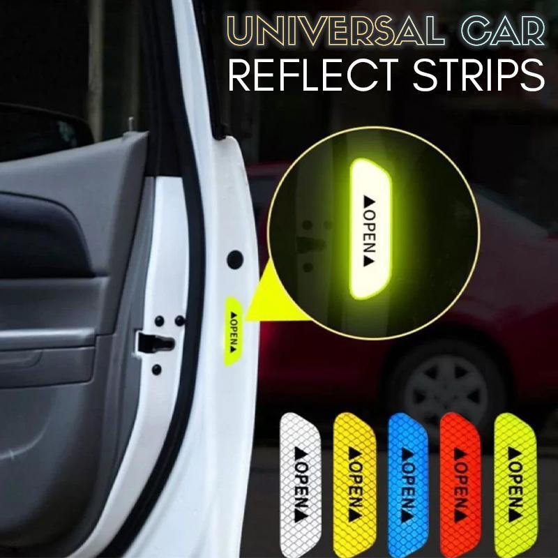 Universal Car Reflective Diamond Strips (Set of 4)