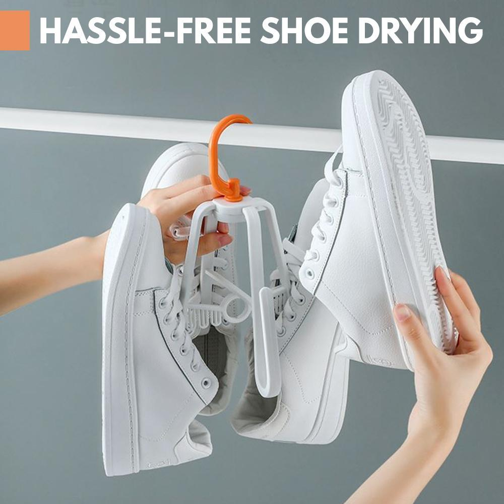 Spinner Swivel Shoe Drying Hook