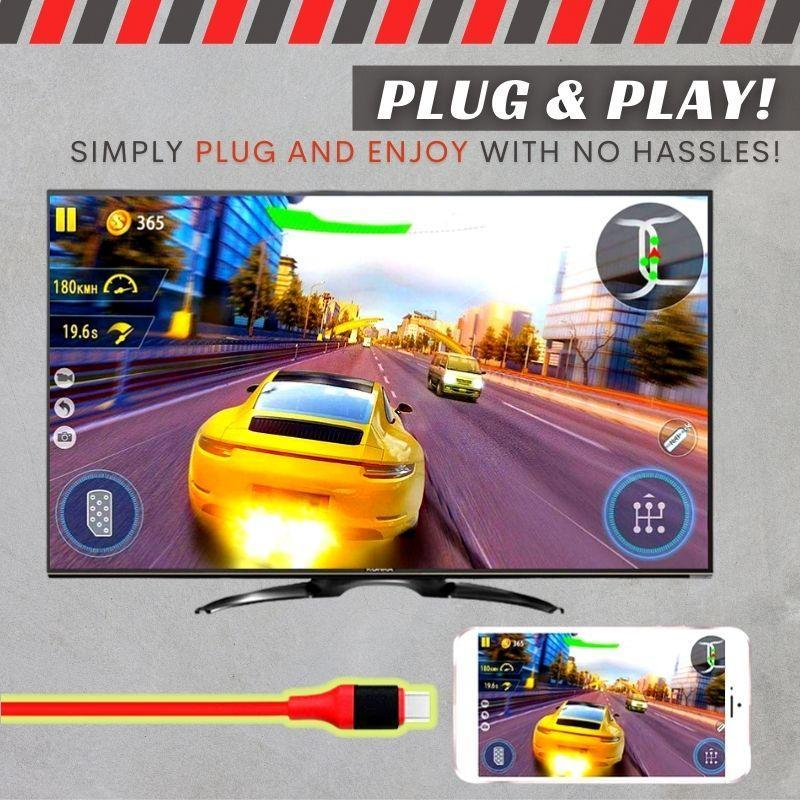 Full HD Mobile to TV HDMI Cable
