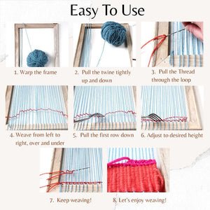 EasyWeave Weaving Loom Starter Kit