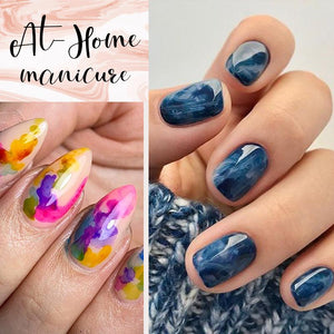 Blossom Marble Ink Polish