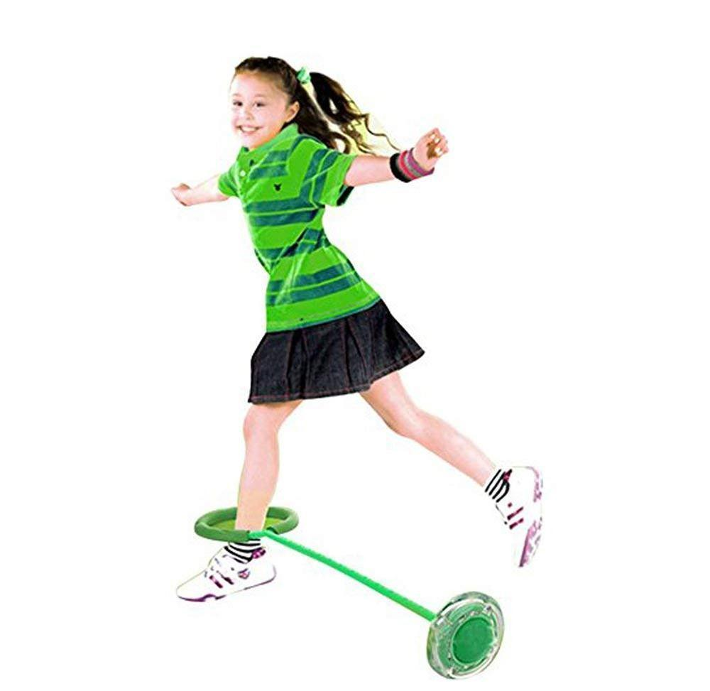 LED Flash Ankle Skip Ball - LimeTrifle