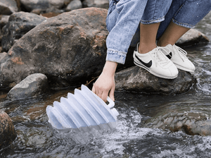 Outdoor Water Folding Bucket