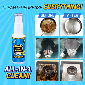 All-Purpose Degreasing Cleaner Spray