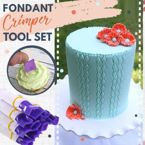 Fondant Decor Crimper Tool Set (10 pieces)