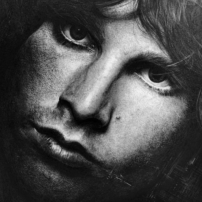 JIM MORRISON 'THE LIZARD KING' - { LIMITED EDITION OF 5 } - ARCHIVAL GICLÉE PRINT