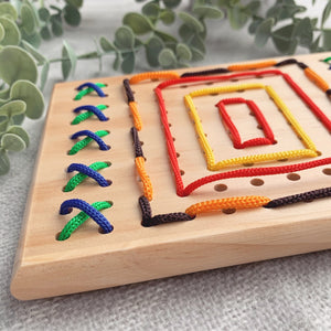 Wooden Threading Board