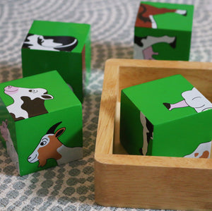 Farm Puzzle Blocks