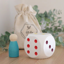Load image into Gallery viewer, Giant Wood Colourful Dice