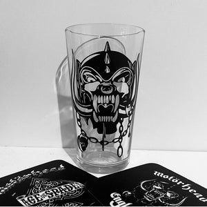 Motörhead Snaggletooth pint glass