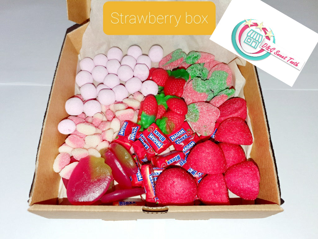 Juicy Strawberry Box