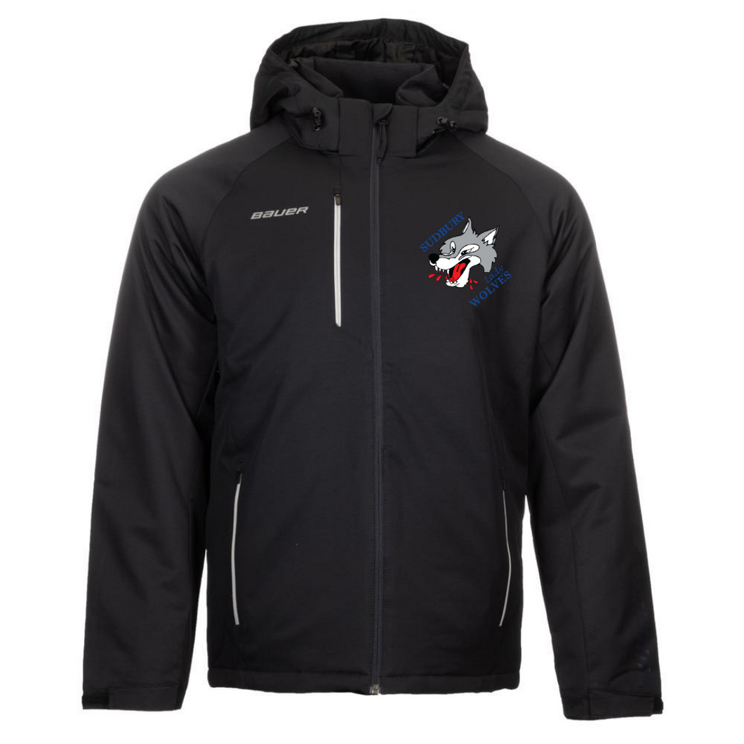 Sudbury Lady Wolves Bauer Heavy Weight Jacket