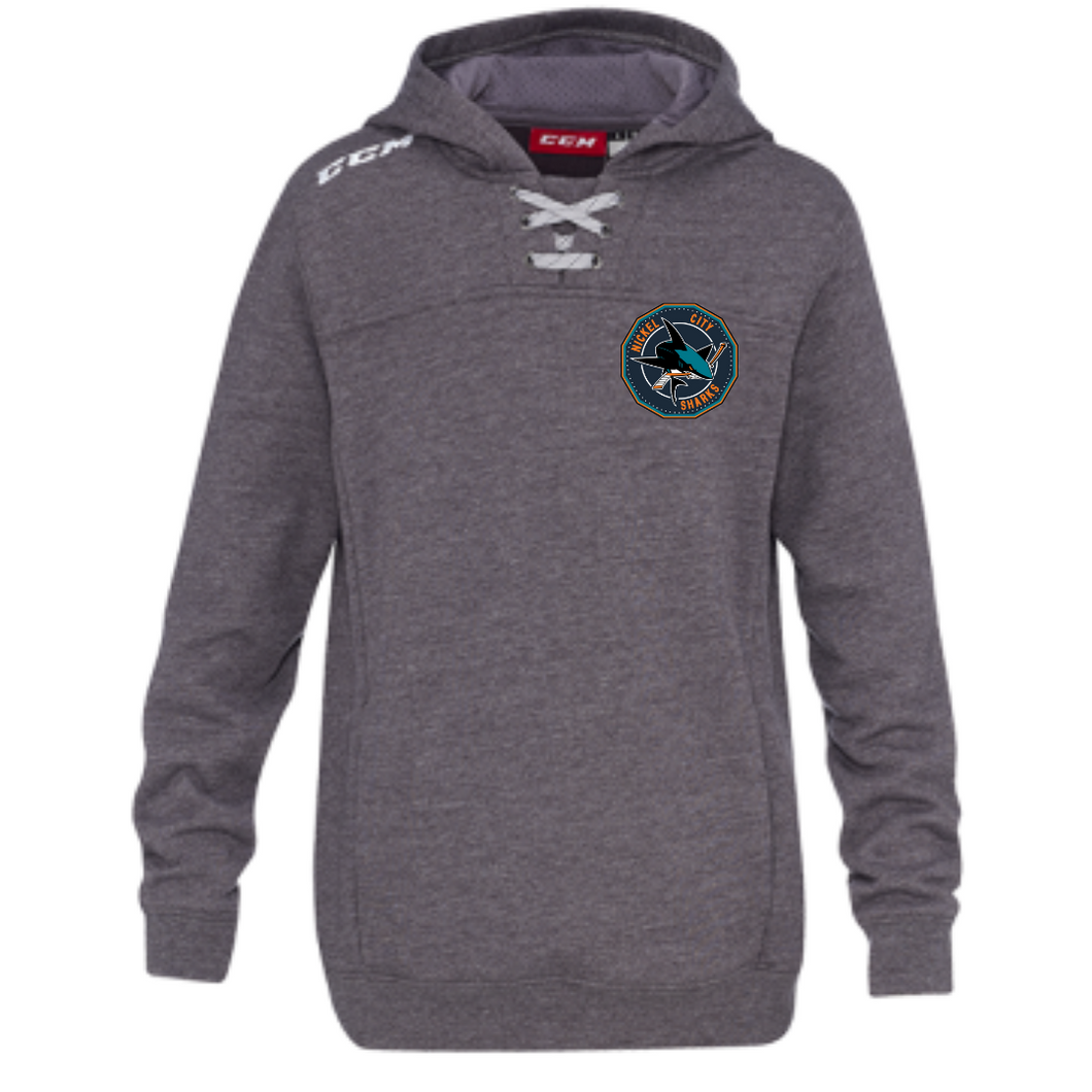Nickel City Sharks CCM Fleece Hoodie