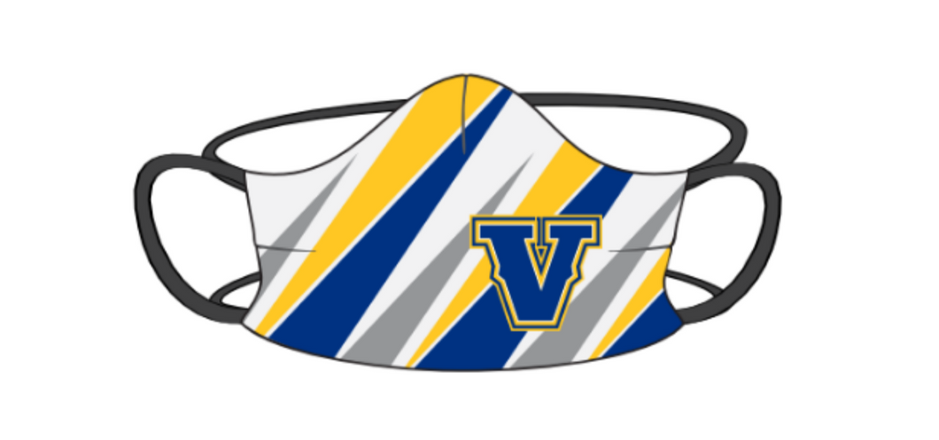 Voyageurs Sublimated Face Mask