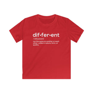 Kids Different Definition Tee