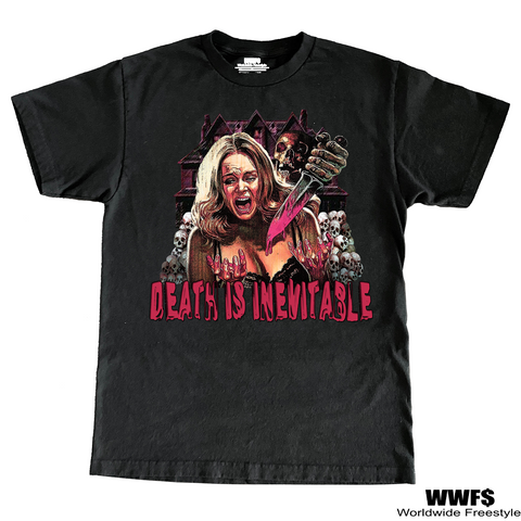 "WWF$- ""Death is inevitable"" Tee!"
