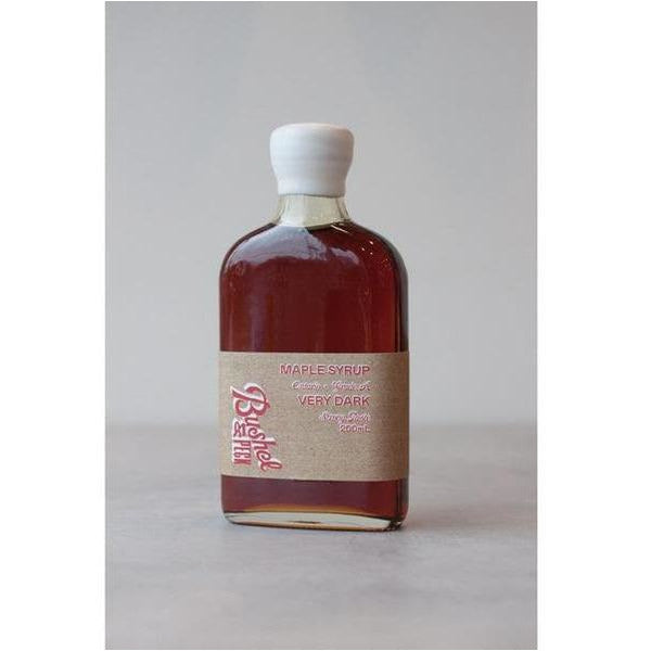 Private Label Maple Syrup – Very Dark – 200mL - bushel & peck