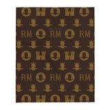 RM Throw Blanket [Brown]