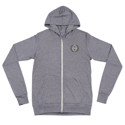 Men's Treaty Collection Zip Up Hoodie