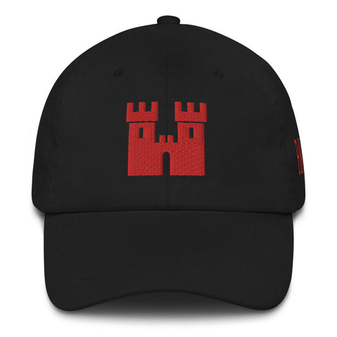 Castle Dad Hat [Red Stitch]