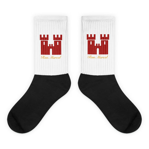 Red Castle Socks