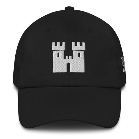 Castle Dad Hat [White Stitch]