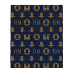 RM Throw Blanket [Navy]