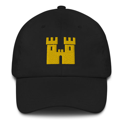 Castle Dad Hat [Gold Stitch]