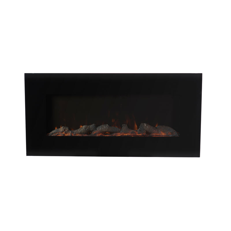 "EdenBrach 42"" Wall Mounted or Freestanding Electric Fireplace"