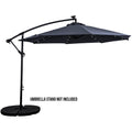 Offset Solar Umbrella