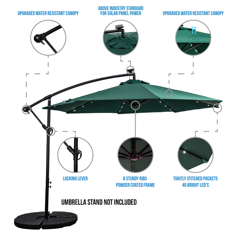 offset umbrella