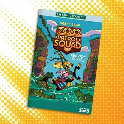Zoo Patrol Squad is Part of Free Comic Book Day 2020