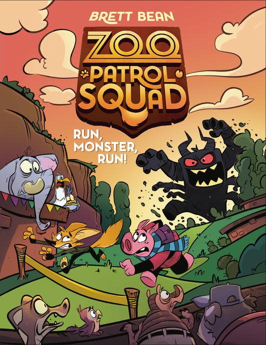 Book 2 Coming Soon! Zoo Patrol Squad - Run Monster, Run!