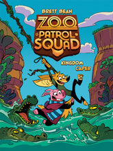 Load image into Gallery viewer, Zoo Patrol Squad Kingdom Caper - Book 1 by Brett Bean. New Release July 2020