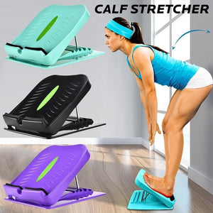 Anti-Slip Adjustable Foot Calf Stretcher Incline Board Body Stretching Tool for Sports Yoga Massage Fitness Pedal Stretcher
