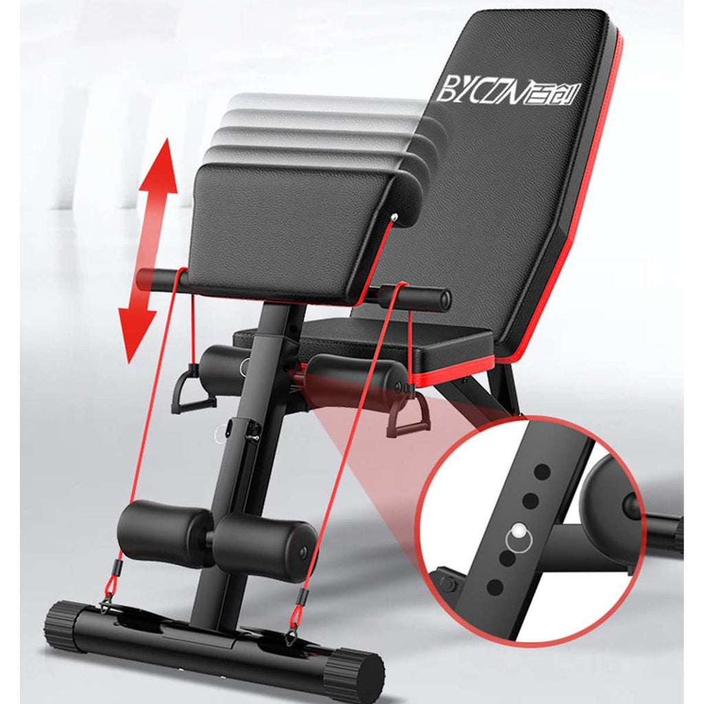 Workout Gym Exercise Training Tool Dumbbell Bench Sit Up Stool Fitness Household Indoor Fitness Equipment