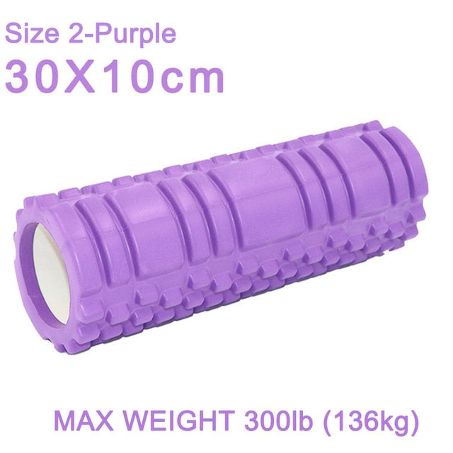 Yoga Column Muscle Relaxation Massage Foam Roller Tools Rehabilitation Training Fitness Blocks Pilates Sports Home Gym Exercise