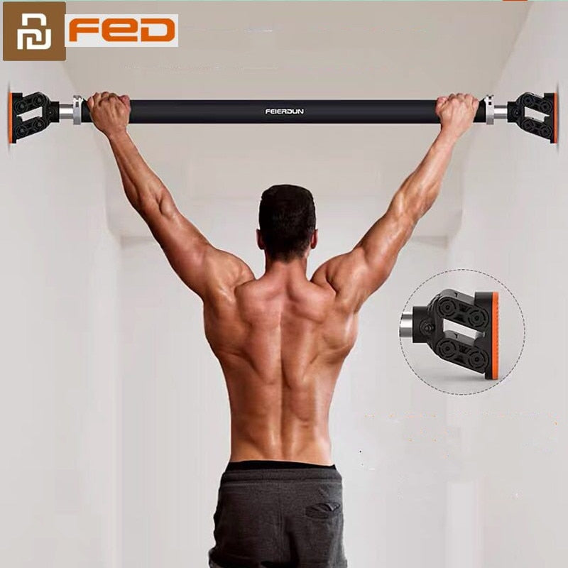 XIAOMI MIJIA FED Wall Horizontal Bar Pull-up Device Stable Safety Non-slip Automatic Buffer Indoor youpin Sports Fitness Tools