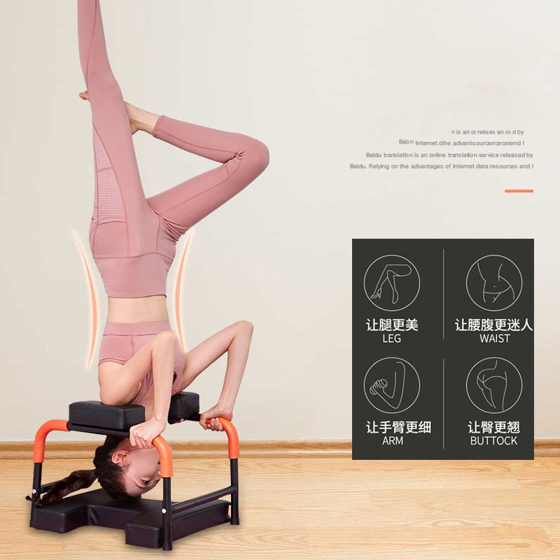 Multi-function Inversion Yoga Chair Fitness Equipment Anti Gravity Indoor Outdoor Gym Building Training Machine Handstand Tools