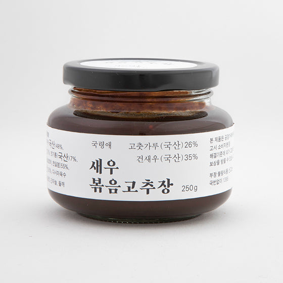 Stir-Fried Red Pepper Paste Made with Dried Shrimp 250g