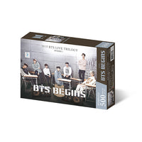 BTS Jigsaw Puzzle World Tour Poster 5 - BTS BEGINS