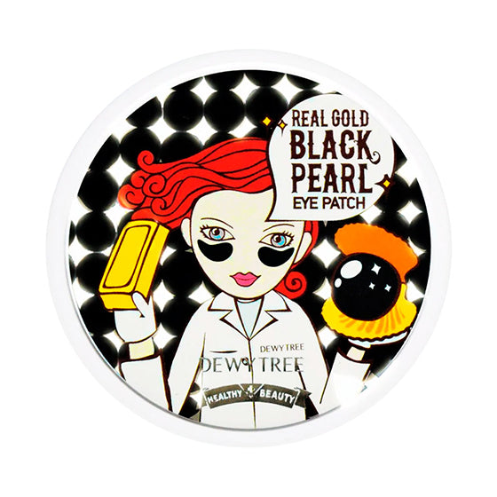 Real Gold Black Pearl Eye Patch 60patches