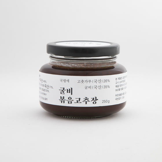 Stir-Fried Red Pepper Paste Made With Dried Yellow Corvina