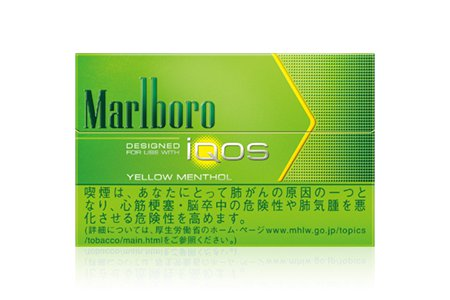 IQOS Yellow Menthol/Marlboro Heat Stick/1 Carton/Genuine product from Japan