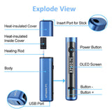 Clearance ! Hitaste P5 Starter Kit/ Blue/ IQOS Compatible