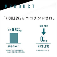 Nicoless Menthol/Heat Stick/1 Carton/Compatible with IQOS