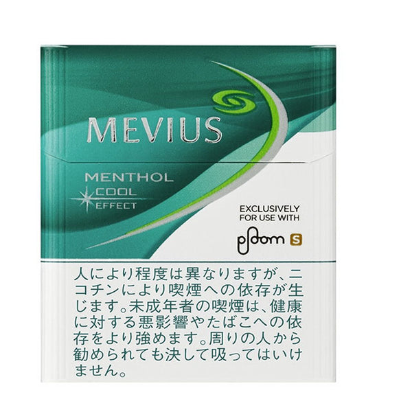 [Ploom S] Mevius_Menthol Cool Effect/Stick/1 Carton/Genuine product from Japan