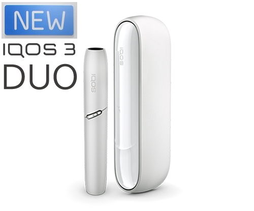 [New] IQOS 3 Duo Starter Kit [White]