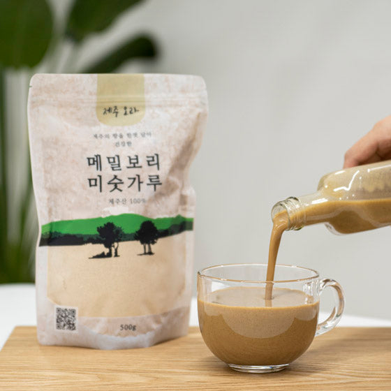 Jeju Buckwheat Barley Powder (Easy Meal] 500g