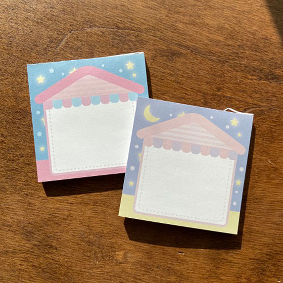 [Kitsch] House Memo pad 2types/1set